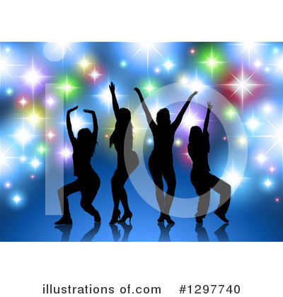 Dancing Clipart #1297740 by dero