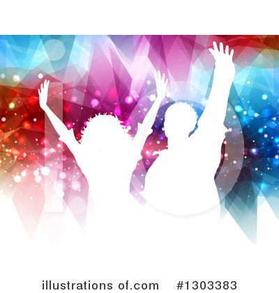 Crowd Clipart #1303383 by KJ Pargeter