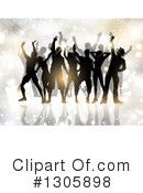 Dancing Clipart #1305898 by KJ Pargeter