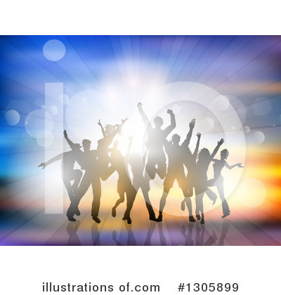 Dancing Clipart #1305899 by KJ Pargeter