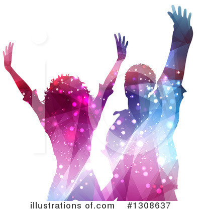 Dancing Clipart #1308637 by KJ Pargeter