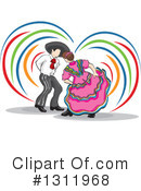 Dancing Clipart #1311968 by David Rey