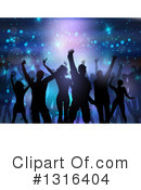 Dancing Clipart #1316404 by KJ Pargeter