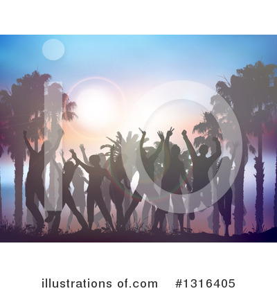 Dancing Clipart #1316405 by KJ Pargeter