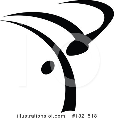 Dancer Clipart #1321518 by Vector Tradition SM
