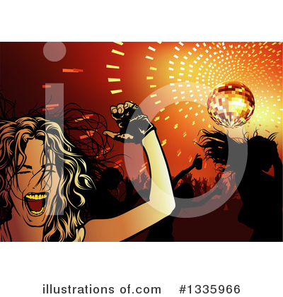 Disco Clipart #1335966 by dero