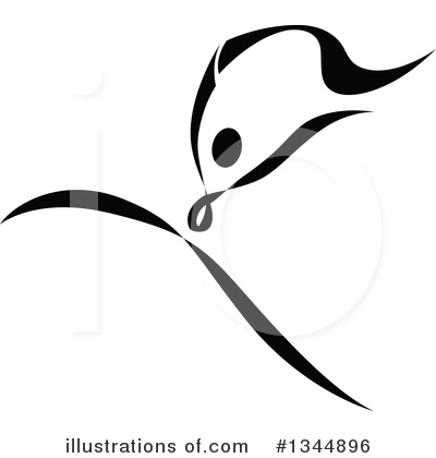 Dancer Clipart #1344896 by Vector Tradition SM