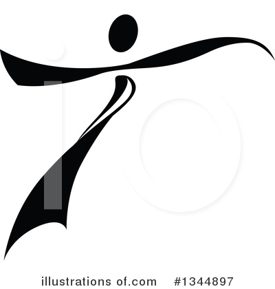 Dancer Clipart #1344897 by Vector Tradition SM
