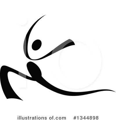Dancer Clipart #1344898 by Vector Tradition SM