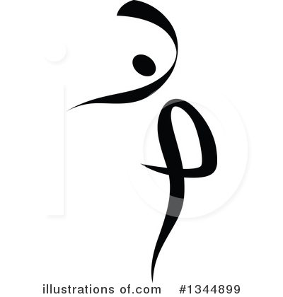 Dancer Clipart #1344899 by Vector Tradition SM