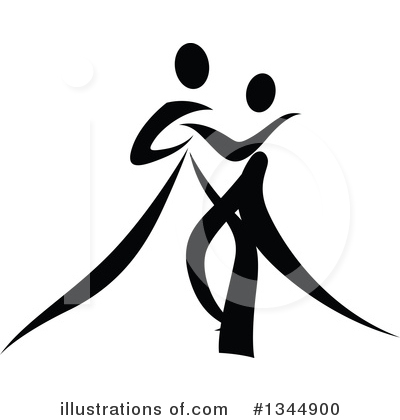 Dancer Clipart #1344900 by Vector Tradition SM