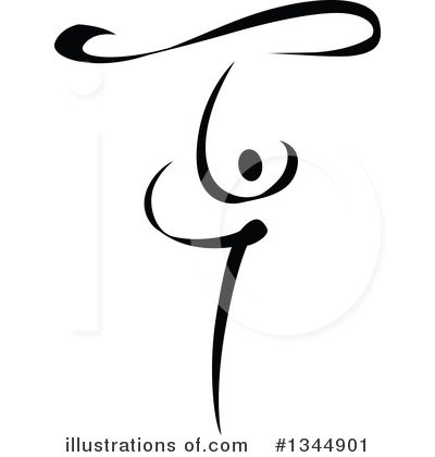 Dancer Clipart #1344901 by Vector Tradition SM