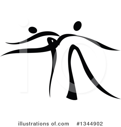 Dancer Clipart #1344902 by Vector Tradition SM