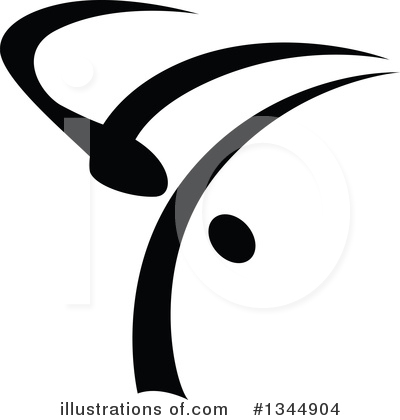 Dancer Clipart #1344904 by Vector Tradition SM