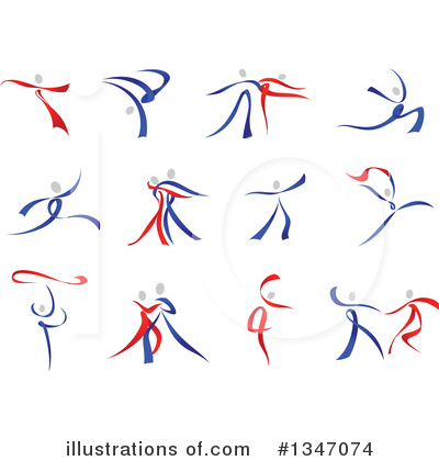 Dancer Clipart #1347074 by Vector Tradition SM