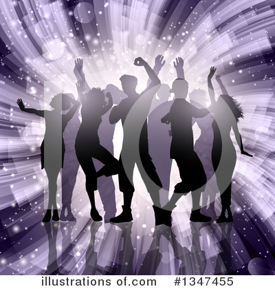 Dancing Clipart #1347455 by KJ Pargeter