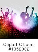 Royalty-Free (RF) Dancing Clipart Illustration #1352082