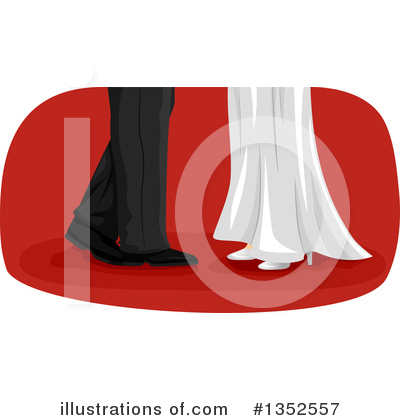 Royalty-Free (RF) Dancing Clipart Illustration by BNP Design Studio - Stock Sample #1352557