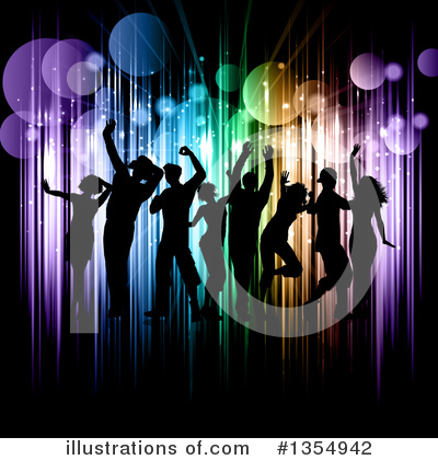 Dancing Clipart #1354942 by KJ Pargeter