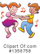Dancing Clipart #1356758 by Zooco