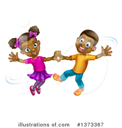 Children Clipart #1373367 by AtStockIllustration