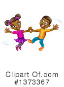 Royalty-Free (RF) Dancing Clipart Illustration #1373367