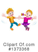 Royalty-Free (RF) Dancing Clipart Illustration #1373368