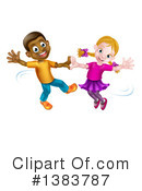 Royalty-Free (RF) Dancing Clipart Illustration #1383787