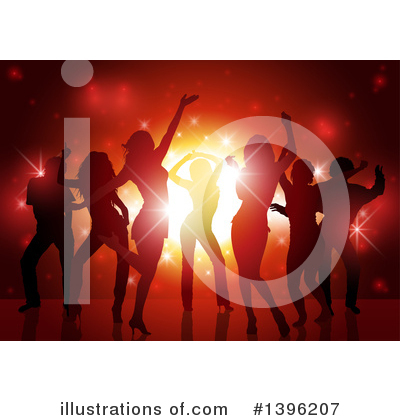 Dancing Clipart #1396207 by dero