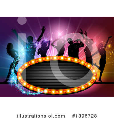 Dancing Clipart #1396728 by dero