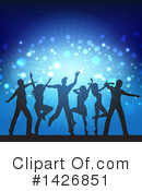Dancing Clipart #1426851 by KJ Pargeter