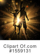 Dancing Clipart #1559131 by KJ Pargeter