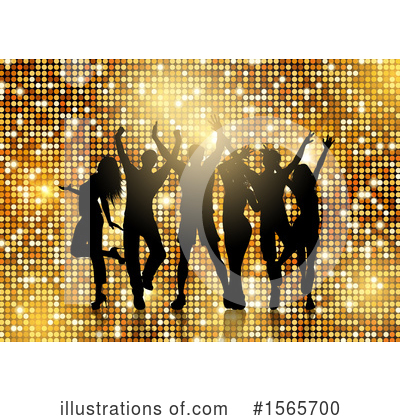 Royalty-Free (RF) Dancing Clipart Illustration by KJ Pargeter - Stock Sample #1565700