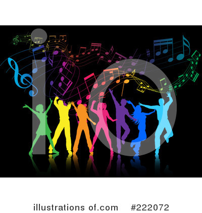 Music Notes Clipart #222072 by KJ Pargeter