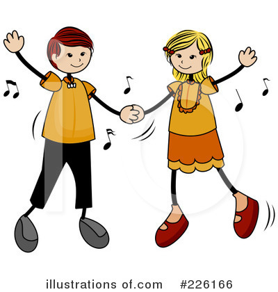 Royalty-Free (RF) Dancing Clipart Illustration by BNP Design Studio - Stock Sample #226166