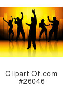 Dancing Clipart #26046 by KJ Pargeter