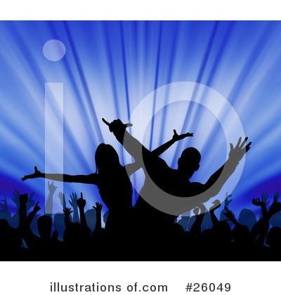 Royalty-Free (RF) Dancing Clipart Illustration by KJ Pargeter - Stock Sample #26049