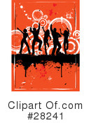 Dancing Clipart #28241 by KJ Pargeter