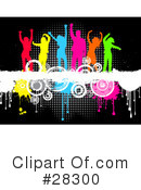Dancing Clipart #28300 by KJ Pargeter