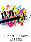 Dancing Clipart #28353 by KJ Pargeter