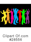 Dancing Clipart #28556 by KJ Pargeter