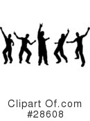 Dancing Clipart #28608 by KJ Pargeter