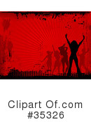 Dancing Clipart #35326 by KJ Pargeter