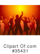 Dancing Clipart #35431 by KJ Pargeter
