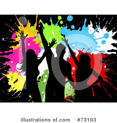 Splatters Clipart #73103 by KJ Pargeter