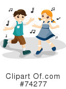 Dancing Clipart #74277 by BNP Design Studio
