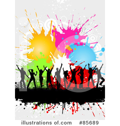 Splatters Clipart #85689 by KJ Pargeter