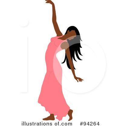 Royalty-Free (RF) Dancing Clipart Illustration by Pams Clipart - Stock Sample #94264