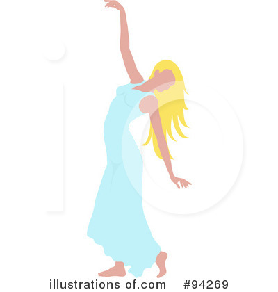 Dancer Clipart #94269 by Pams Clipart