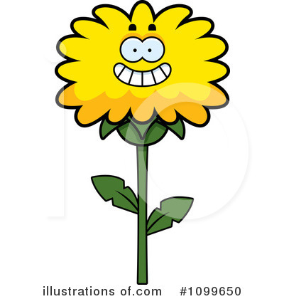 Dandelion Clipart #1099650 by Cory Thoman